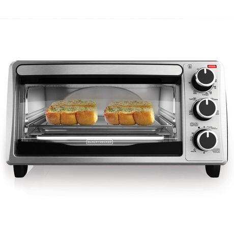 Black Decker Four Slice Toaster Oven Walmart Canada