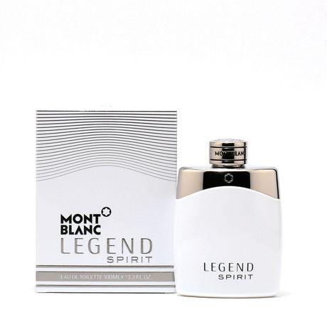 עדכון מעודכן MONT BLANC Legend Spirit Menedt Spray 100 ml | Walmart Canada ZY-32
