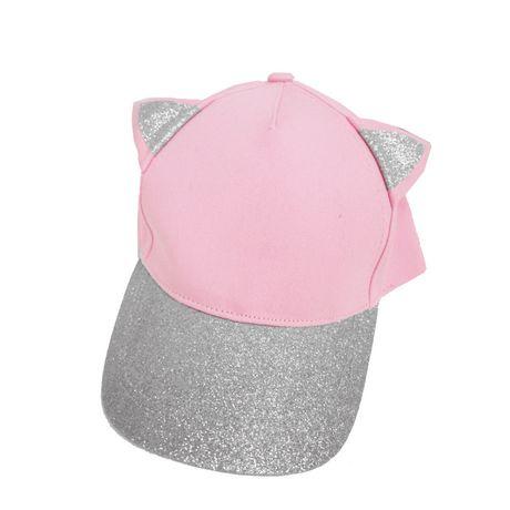 1089d9b25b8 George Girl s Baseball Hat with Glitter Ears   Peak
