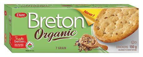 breton dare organic 7 grain crackers walmart canada