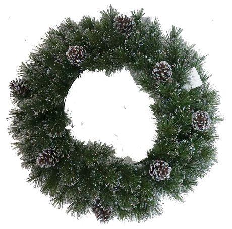 Couronne Holiday Time de 60,9 cm (24 po) - image 1 de 1