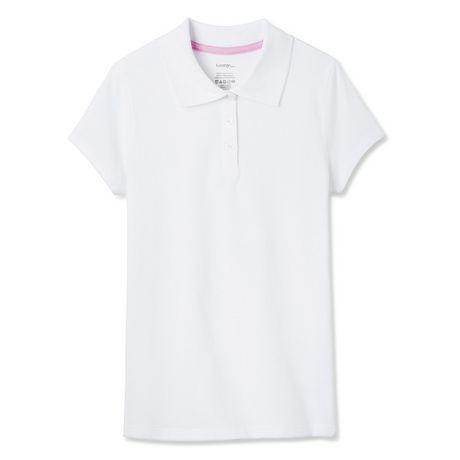 George Girls' Uniform short Sleeve Polo - image 1 of 2