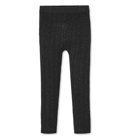 21e3c7143b8a8 George Toddler Girls' Cable Knit Leggings | Walmart Canada