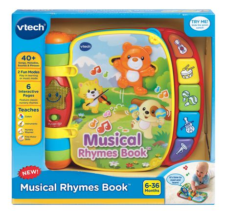 Vtech Do Re Mi Super Livre Enchante Version Anglaise