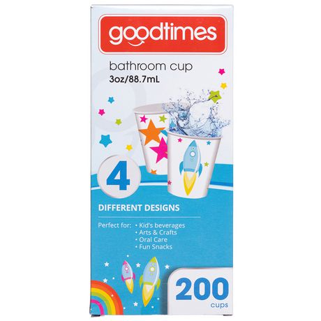 Gobelets en papier aux motifs pour enfants de GoodtimesMC pour salle de bain - image 1 de 2
