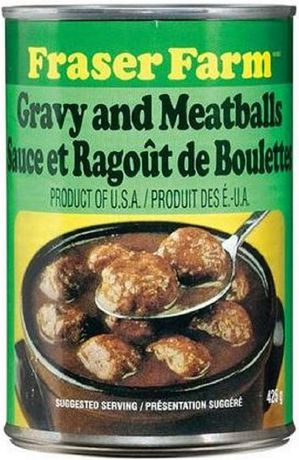 Fraser Farm Products Fraser Farm® Gravy And Meatballs - image 1 of 2