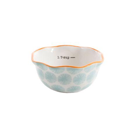 The Pioneer Woman Flea Market 4-Piece Ceramic Decorated Measuring Bowls - image 2 of 5