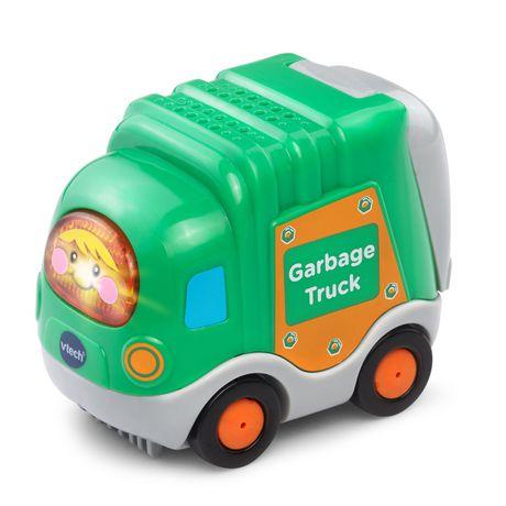 VTech Gary, le camion-poubelle Tut Tut Bolides - Version anglaise - image 3 de 3