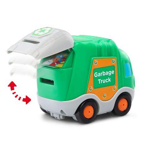 VTech Gary, le camion-poubelle Tut Tut Bolides - Version anglaise - image 2 de 3