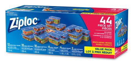 SC Johnson and Son Ltd Ziploc® 44-piece Value Pack Storage Container  sc 1 st  Walmart Canada & SC Johnson and Son Ltd Ziploc® 44-piece Value Pack Storage Container ...