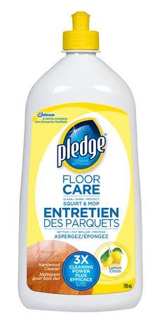 Pledge 174 Hardwood Cleaner Floor Care Walmart Canada