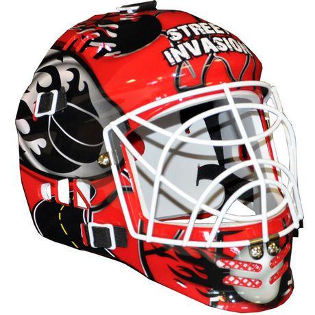 Street Invasion Street Hockey Goalie Mask Red Walmart Canada