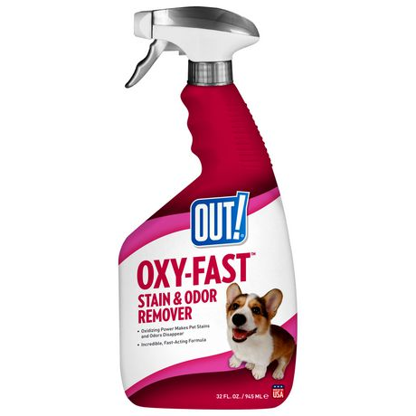 OUT! Oxy-Fast Stain & Odor Remover - 945 ml - image 1 of 2