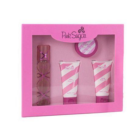 Aqualina Gift Set - PINK SUGAR by Gift Set EDT | Walmart Canada
