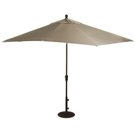 parasol rectangulaire de style march de 2 4 x 3 m 8 x 10 pi avec toile acrylique sunbrella de. Black Bedroom Furniture Sets. Home Design Ideas