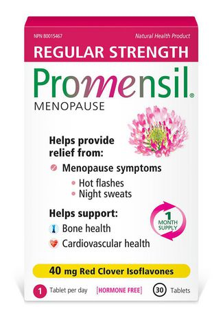Promensil® Menopause Symptom Relief 40 mg Tablets, 30 Count - image 1 of 1