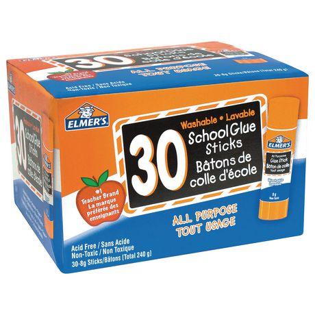 Elmer's® All Purpose Glue Sticks, 30x8g - image 1 of 2