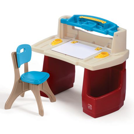 Step2 Deluxe Art Master Desk Walmart Ca