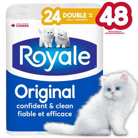 Papier hygiénique Original de ROYALE(MD) à 2 épaisseurs - image 1 de 3