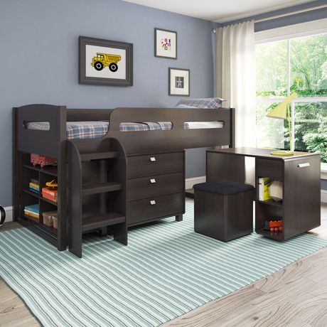 Corliving Madison Collection All In One Single Twin Size