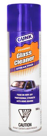 mousse nettoyante gunk pour vitres sans traces walmart canada. Black Bedroom Furniture Sets. Home Design Ideas