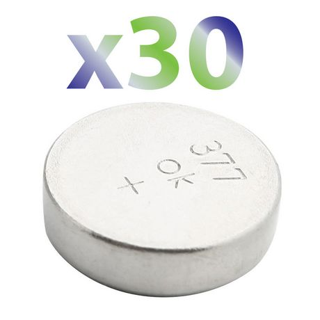 Exian Button Battery 1.5V #377A/Lr626/377/G4 - Pack Of 30