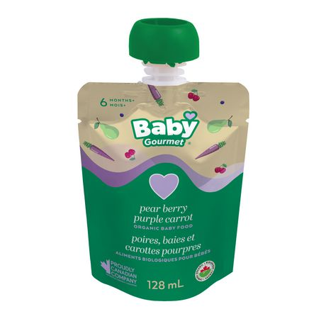 Baby Gourmet Pear Berry Purple Carrot Organic Baby Food Puree - image 1 of 5