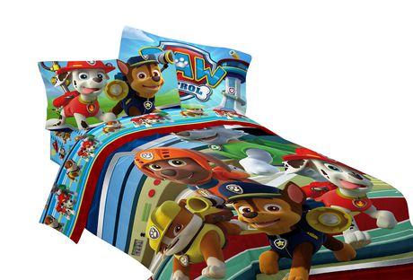 Paw Patrol Sleeping Bag Set For Kids Boys Girls To Full Comforter