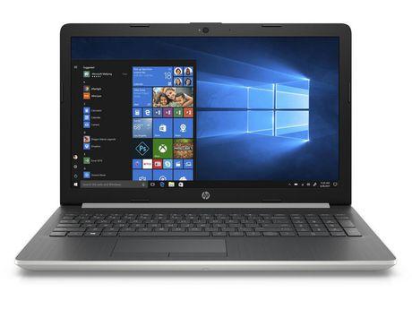 """HP 15-da0042ca, 15,6 """"ordinateur portable, Core i5-8250U, Intel UHD Graphics 620, 12 Go DDR4, SATA 2TB 5400RPM, Windows 10 Accueil, 4NJ07UA # ABL - image 1 de 1"""