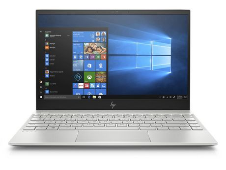 "HP Envy 13-ah0003ca 13.3"" Laptop, Natural Silver, Core i5-8250U, Intel UHD Graphics 620, 8GB LPDDR3-2133 SDRAM (onboard), 256GB PCIE NVMe M.2 Ssd, WIN10 Home, 4LX72UA#ABL - image 1 of 1"