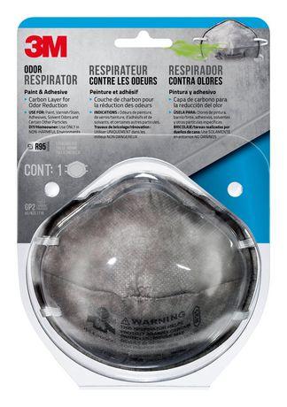 respirateur contre les odeurs de peinture 3m walmart canada. Black Bedroom Furniture Sets. Home Design Ideas