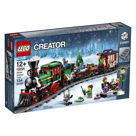 Lego Train De Noel LEGO Creator Expert Winter Holiday Train (10254) | Walmart Canada