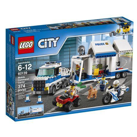 LEGO City Police Le poste de commandement mobile (60139) - image 2 de 2