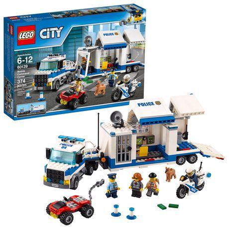 LEGO City Police Le poste de commandement mobile (60139) - image 1 de 2