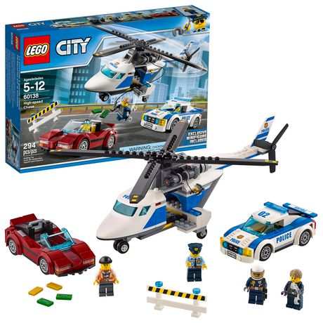 Lego City Police High Speed Chase 60138 Walmart Canada