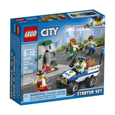 lego city police police starter set 60136 walmart canada - Lgo City Police