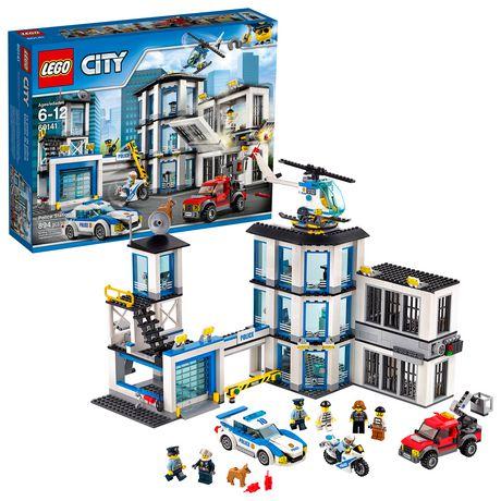 LEGO City Police Police Station 60141 Building Kit - image 1 of 6