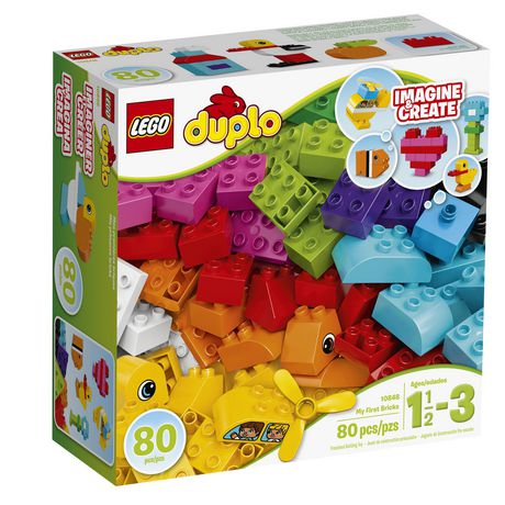 Mes Duplo My First Lego Briques10848exclusif Premières Walmart Pn0wOk