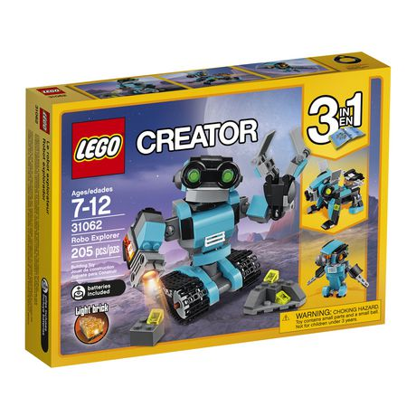LEGO Creator Le robot explorateur (31062) - image 2 de 5