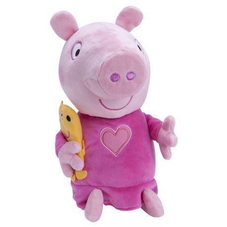 Jouet En Peluche Peppa Cochon Sleep N Oink De Peppa Pig Walmart Canada