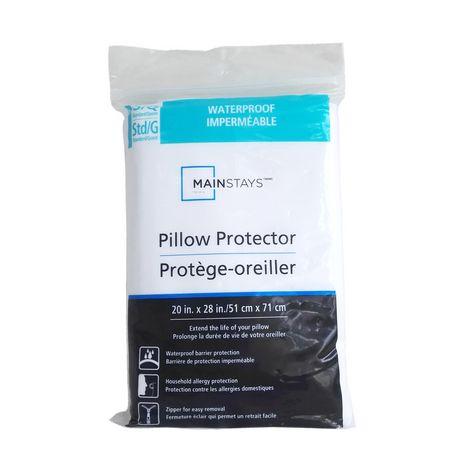 protège oreiller imperméable Protège oreiller imperméable Mainstays | Walmart Canada protège oreiller imperméable
