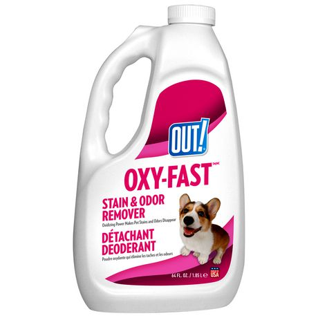 OUT! Oxy-Fast Stain & Odor Remover - 1.85 L - image 1 of 1