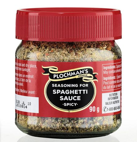 Plochman'sseasoning for Spaghetti Sauce -Spicy- - image 1 of 2