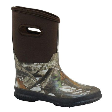 Weather Spirits Neo Girls' Rubber Boots - image 1 of 1