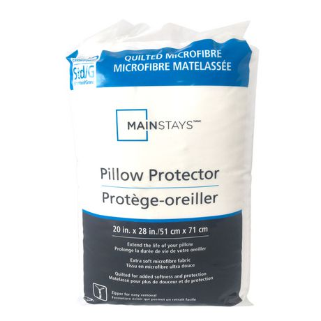 Mainstays Quilted Microfiber Pillow Protector - image 1 of 1