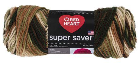 RED HEART/E300 Super Saver Yarn Warm Brown