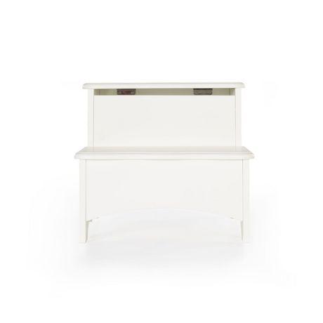 Guidecraft Classic Storage Step Up Stool White Walmart