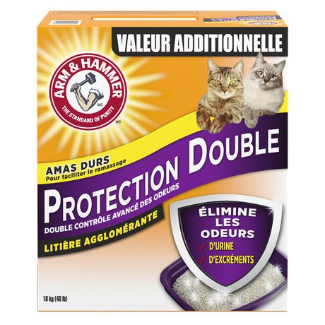 Arm & Hammer  Double Duty Advanced Odour Control Clumping CAT Litter - image 2 of 2