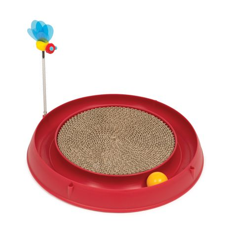 Catit Play 3 in 1 Circuit Ball Toy with Scratch Pad - image 2 of 4