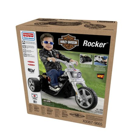 Fisher-Price POWER WHEELS Harley-Davidson Rocker - image 5 of 6